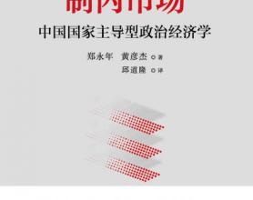 制内市场:中国国家主导型政治经济学「pdf-epub-mobi-txt-azw3」